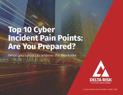 Top 10 Cyber Incident Pain Points: Are You Prepared?