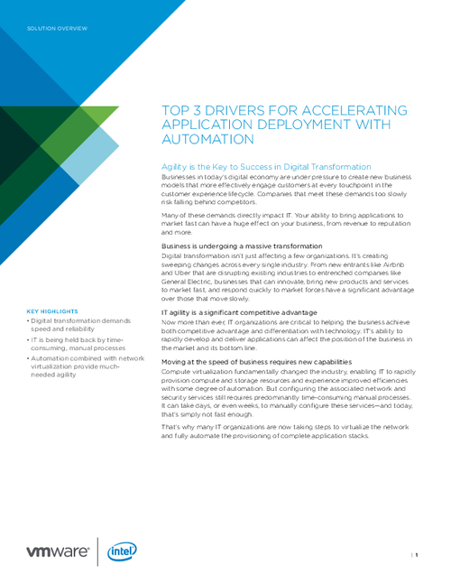 Top 3 Drivers for Accelerating App Development with Automation