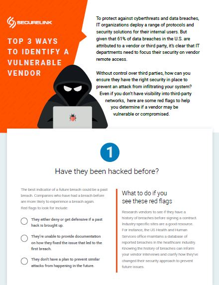 Top 3 Ways to Identify a Vulnerable Vendor