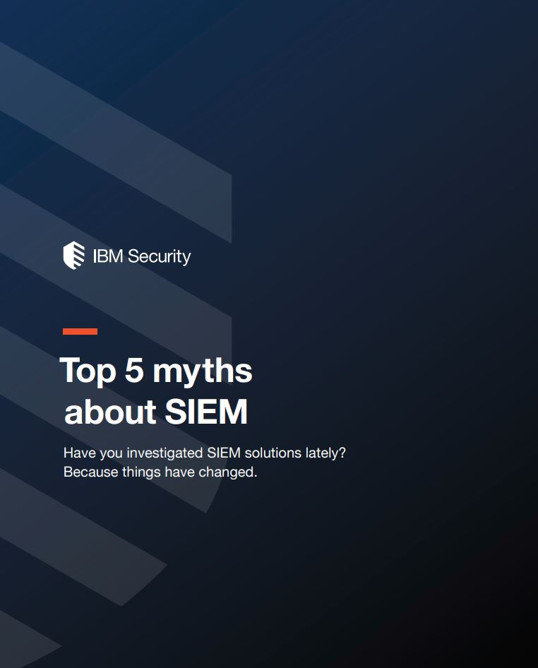 Top 5 Myths About SIEM