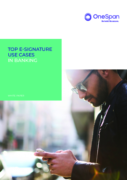 Top E-Signature Use Cases In Banking