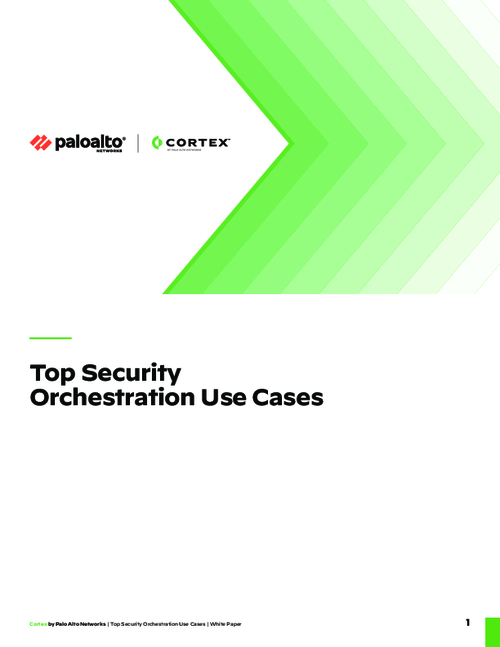Top Security Orchestration Use Cases