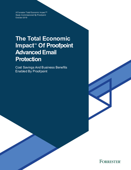 The Total Economic Impact of Proofpoint Advanced Email Protection