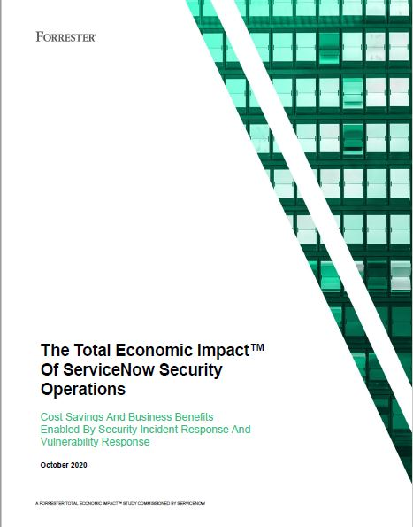 The Total Economic Impact of Security Operations