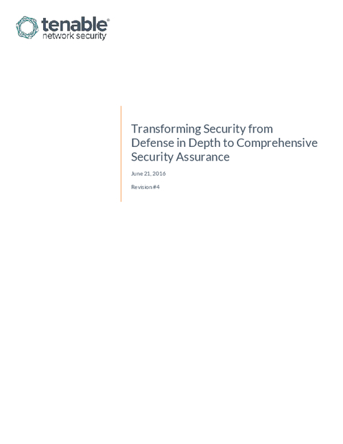 Transforming Security from Defense in Depth to Comprehensive Security Assurance