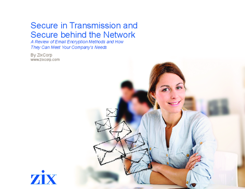 Transport Layer Security: How you improve it and Email Security with Zix