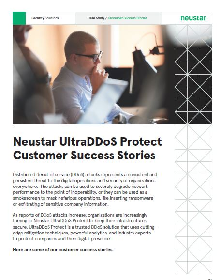 UltraDDoS Protect Success Stories