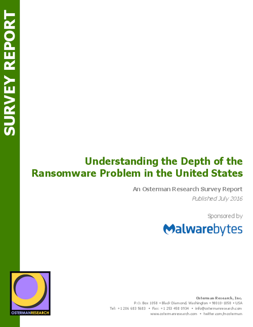 Understanding the Depth of Ransomware in the US; $1 Billion-a-year Industry