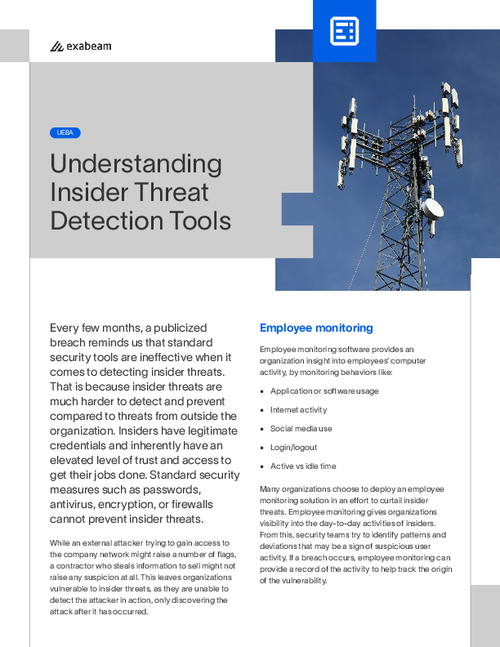 Understanding Insider Threat Detection Tools