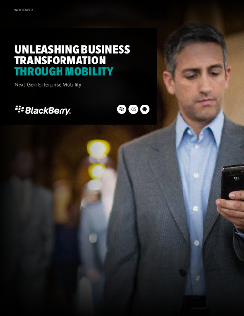 Unleashing Business Transformation through Mobility