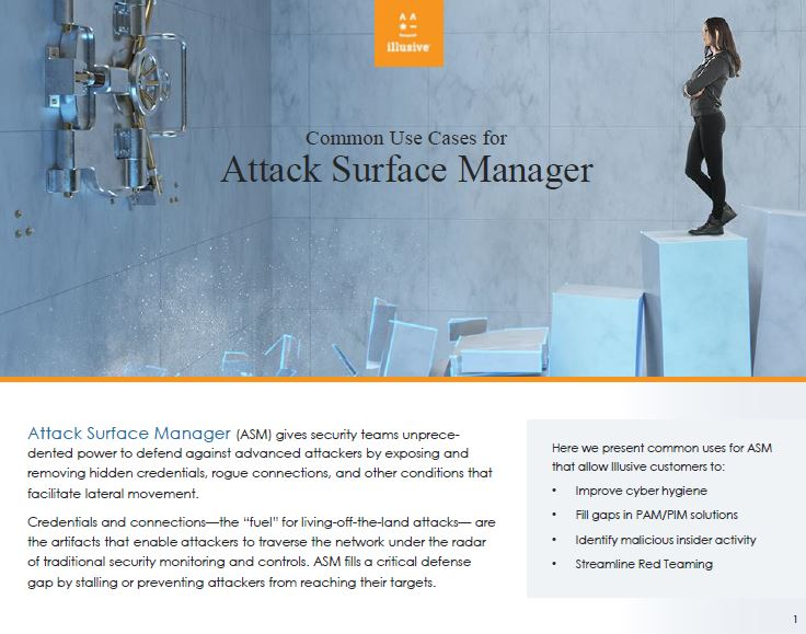 Use Cases for Attack Surface Manager