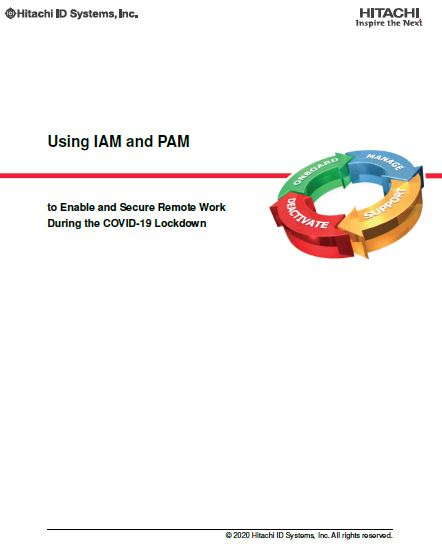 Using IAM and PAM to Enable and Secure Remote Work
