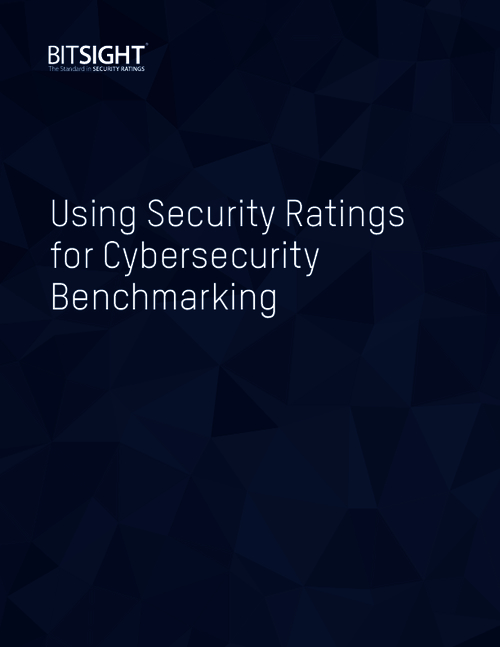 Using Security Ratings for Cybersecurity Benchmarking