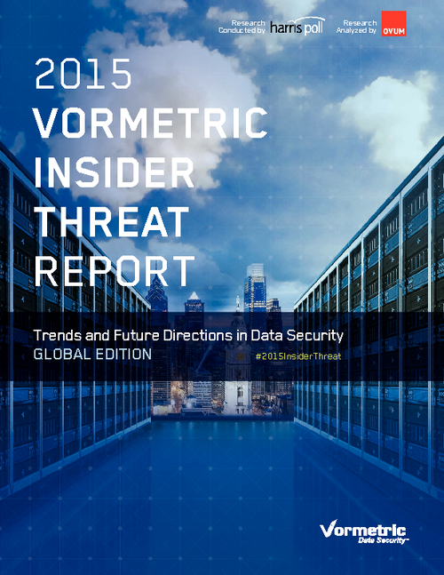 2015 Insider Threat Report - Global Edition