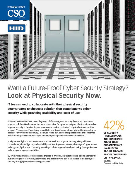Want a Future-Proof Cyber Security Strategy? Look at Physical Security Now.