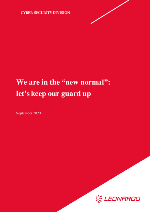 "We Are In The ""New Normal"": Let's Keep Our Guard Up"