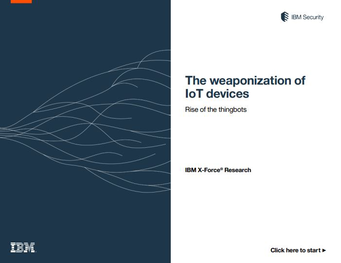 The Weaponization of IoT Devices
