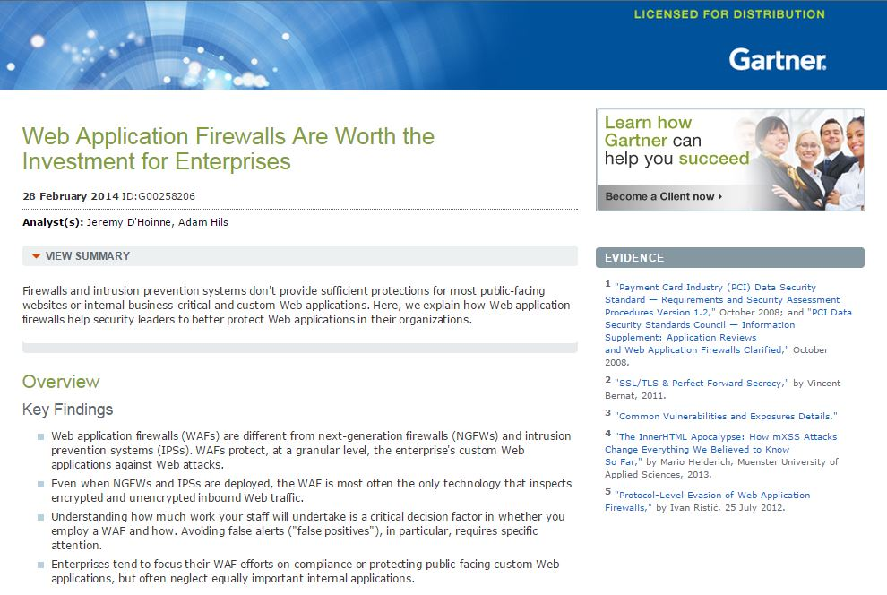 Web Application Firewalls Are Worth the Investment for Enterprises