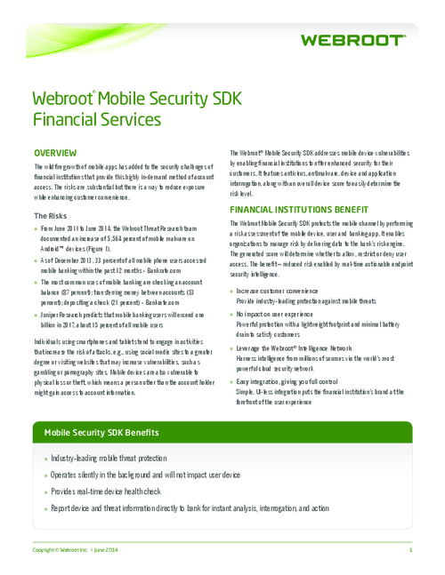 Reducing Mobile Banking Risk with Real-Time Endpoint Security Intelligence
