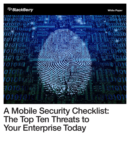 What are the Top Mobile Threats Facing Your Enterprise?