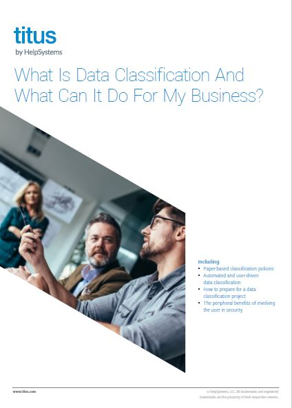 What Is Data Classification And What Can It Do For My Business?