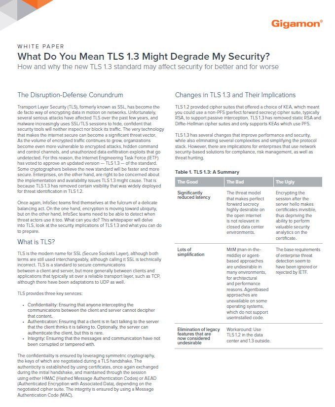 What Do You Mean TLS 1.3 Might Degrade My Security?