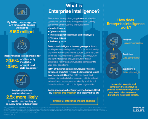 What is Enterprise Intelligence?