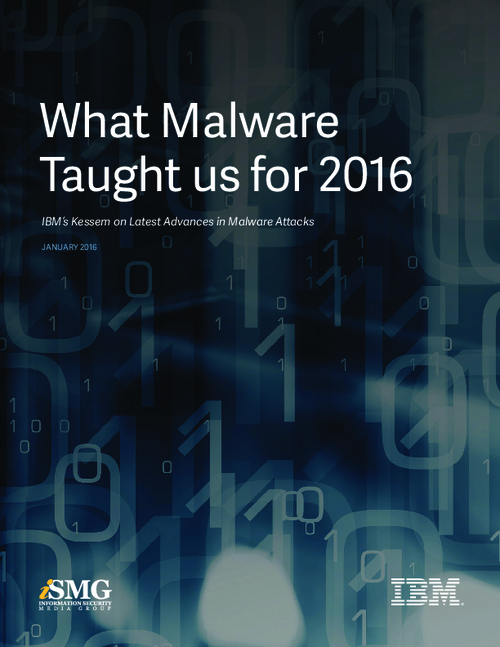 What Malware Taught us for 2016