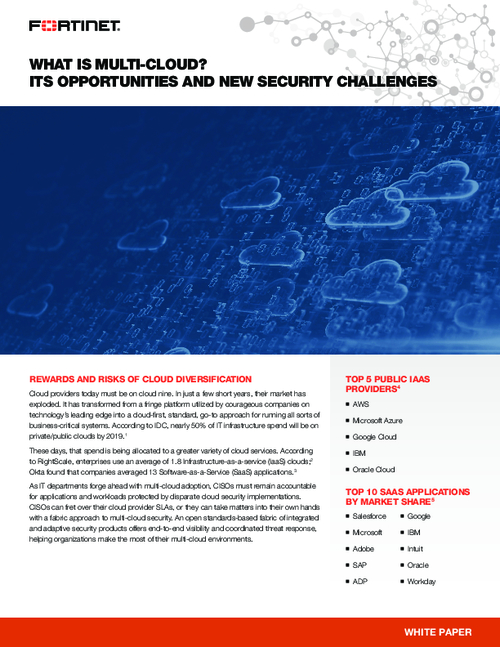 Multi-Cloud:  New Security Challenges and New Opportunities