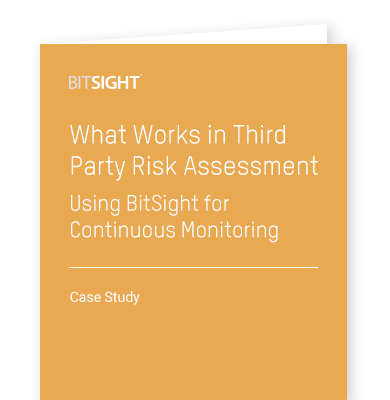 What Works in Third Party Risk Assessment