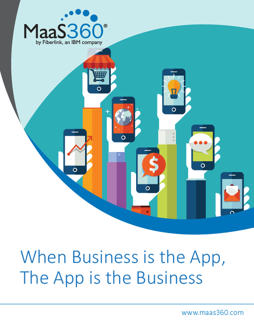 When App Is The Business, The Business Is The App