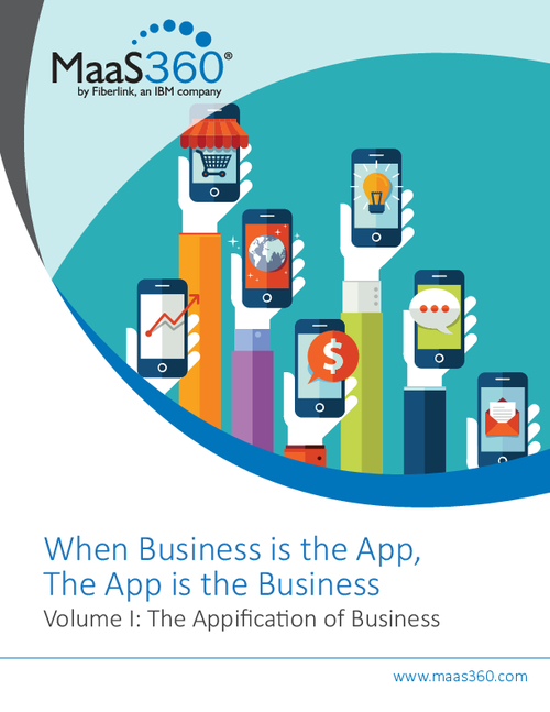 When Business is the App, the App is the Business - Vol 1