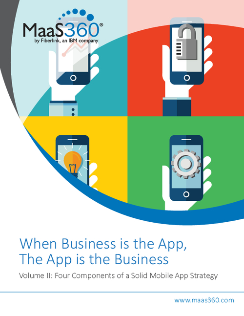 When Business is the App, the App is the Business - Vol 2