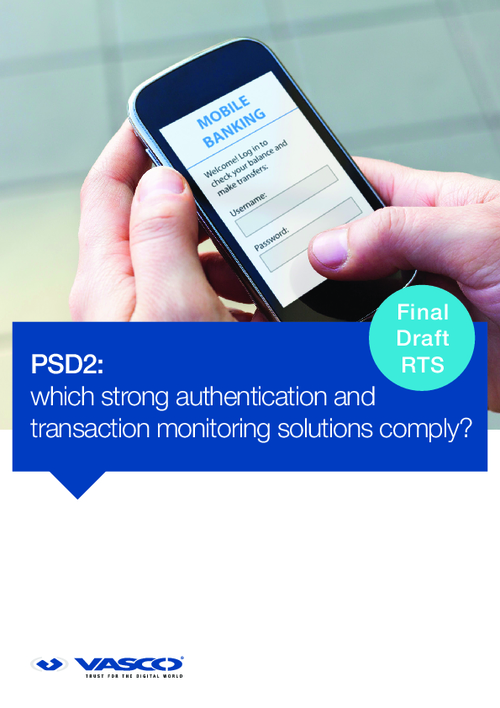 Which Strong Authentication and Transaction Monitoring Solutions Comply?